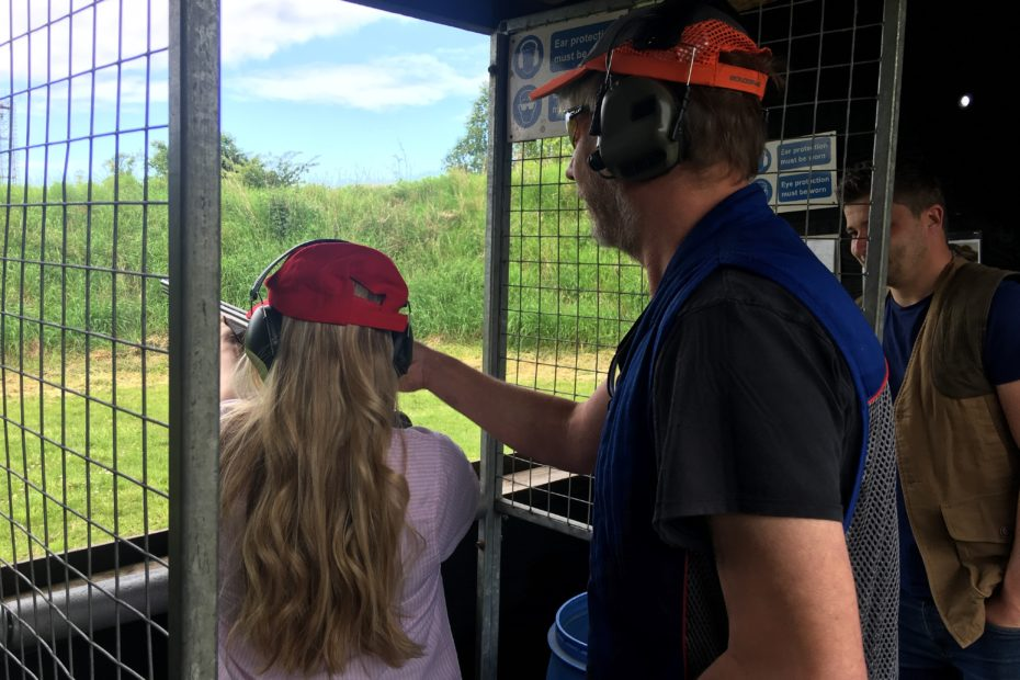 Clay Pigen Shooting Tuition in Bedfordshire
